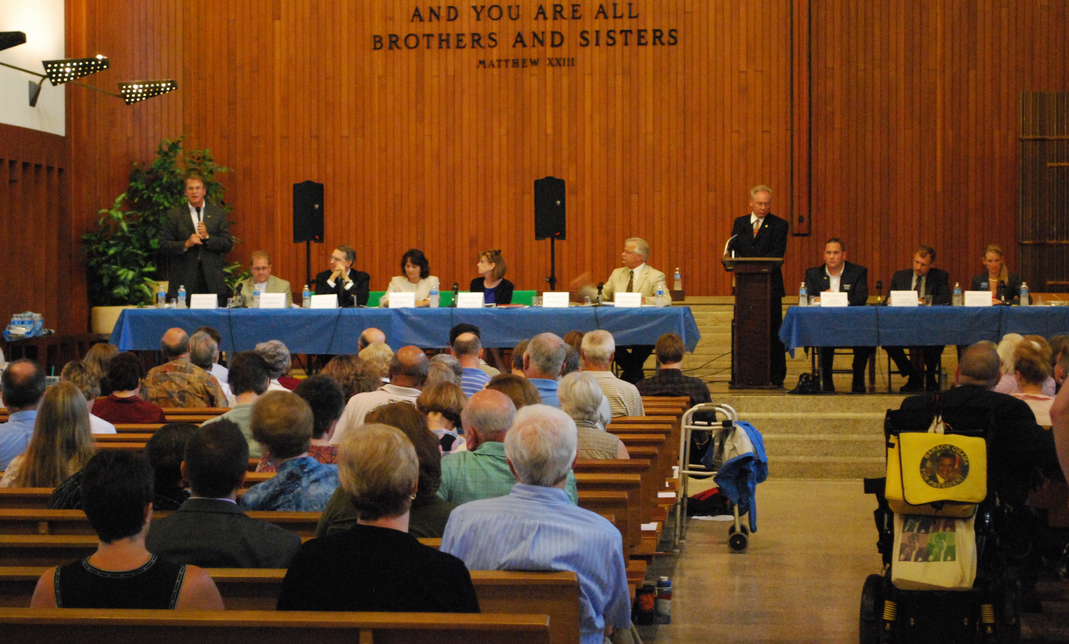 A Candidate Forum on Disability Issues