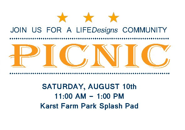 Bloomington Picnic at Karst Splash Pad