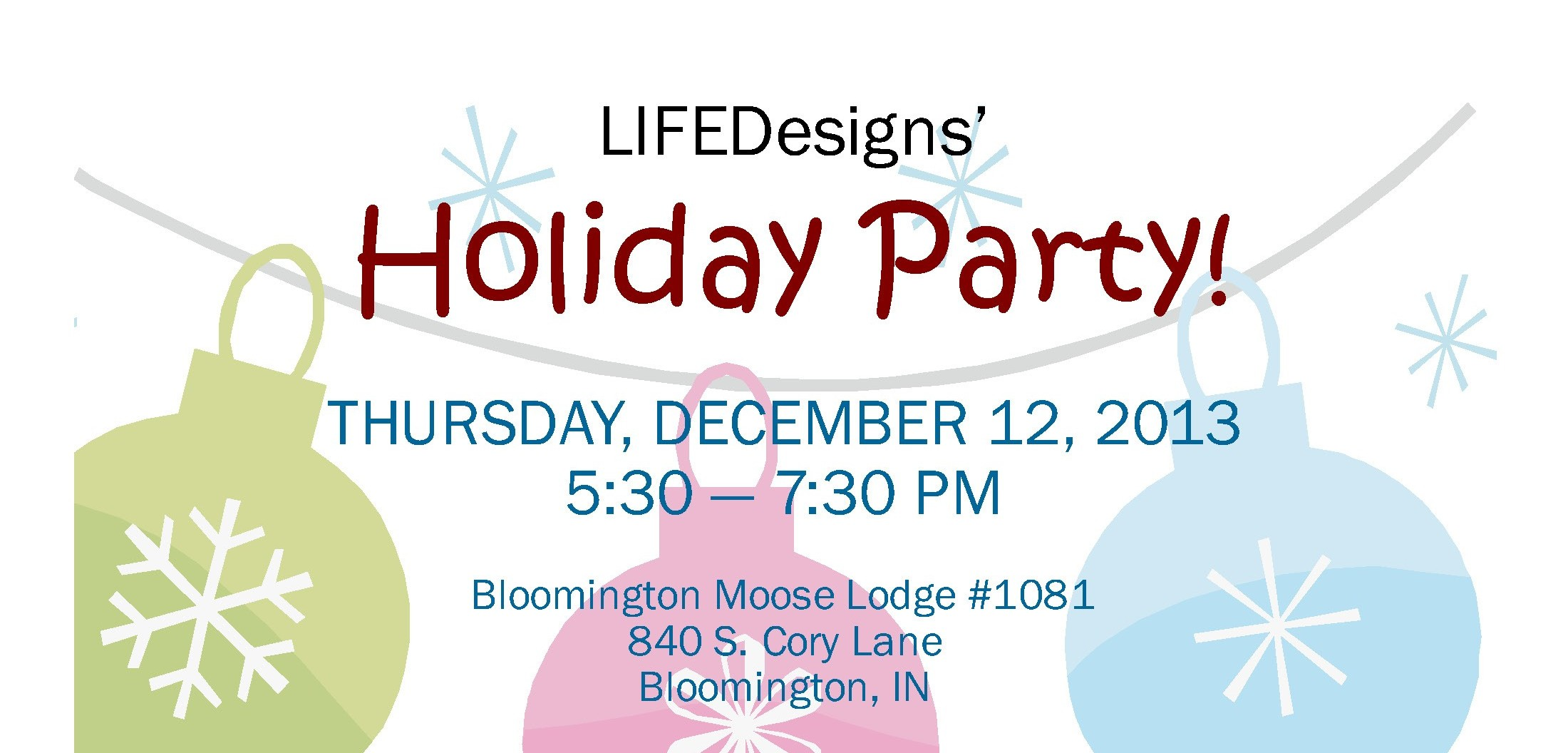 LIFEDesigns' Holiday Party Invite 2013-4