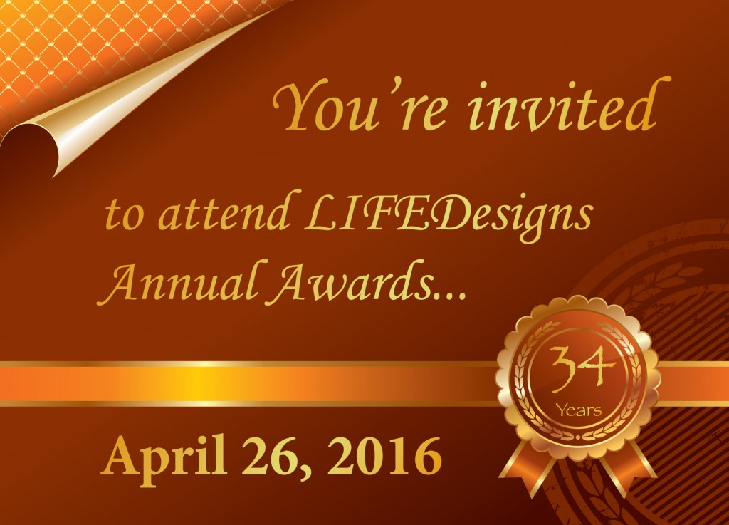 Annual Awards Inviation Front 2016