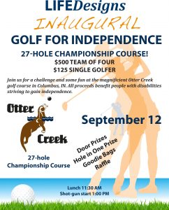 Golf for Independence Flyer_2017