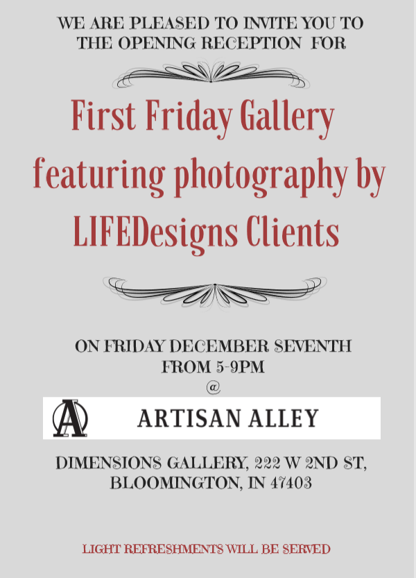 gallery flyer photo