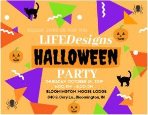 halloween invite 2019