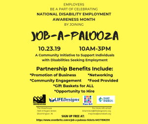 job-a-palooza flyer