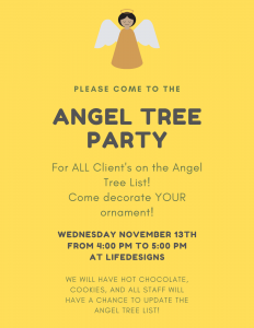 ANGEL TREE PARTY