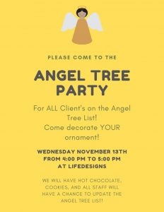 ANGEL TREE PARTY pic