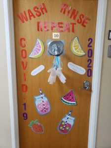 door dec. comp.